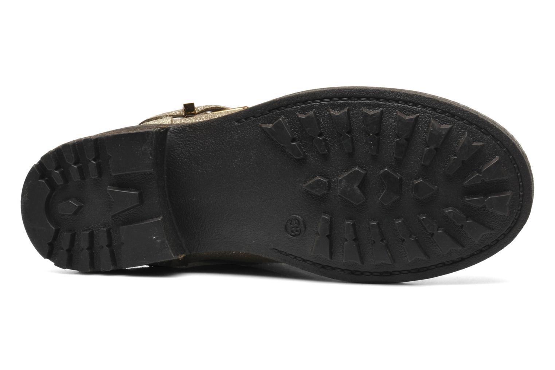 Bottines et boots Les Tropéziennes par M Belarbi Lolita Or et bronze vue haut