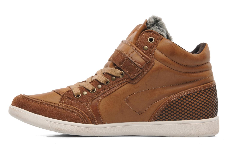 Sneakers Kangaroos K-Basket 5005 Bruin voorkant