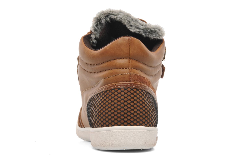 Sneakers Kangaroos K-Basket 5005 Bruin rechts