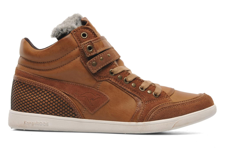 Sneakers Kangaroos K-Basket 5005 Bruin achterkant