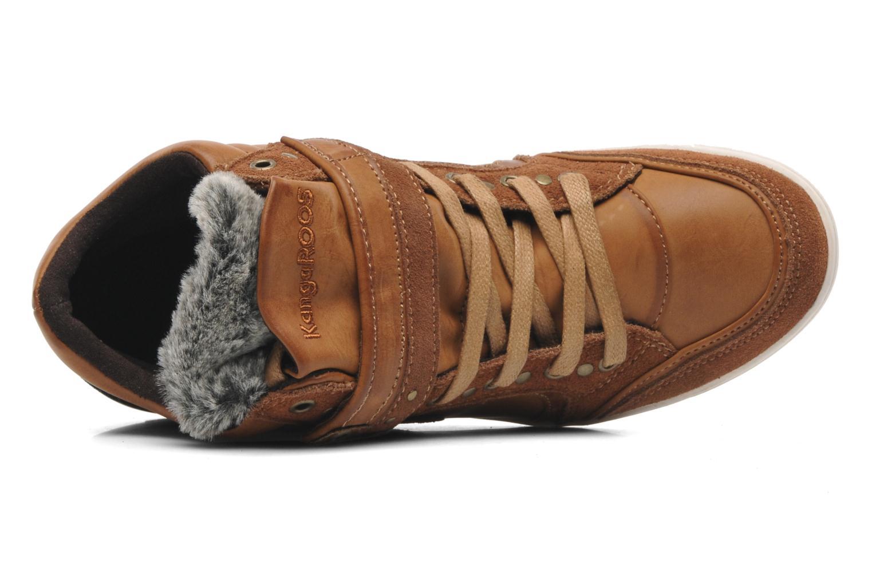 Sneakers Kangaroos K-Basket 5005 Bruin links