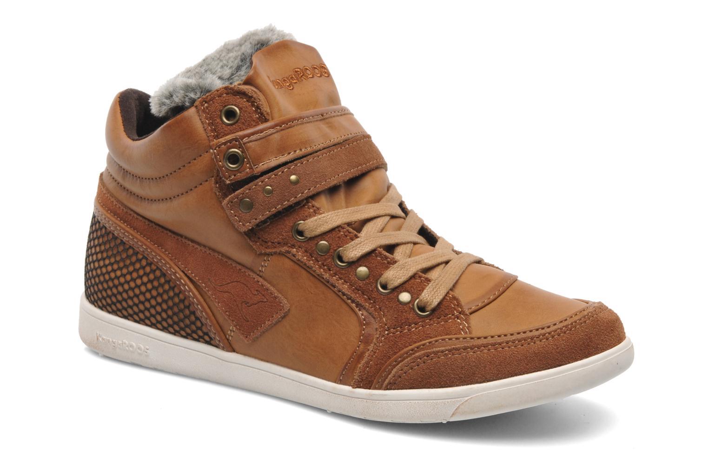 Sneakers Kangaroos K-Basket 5005 Bruin detail