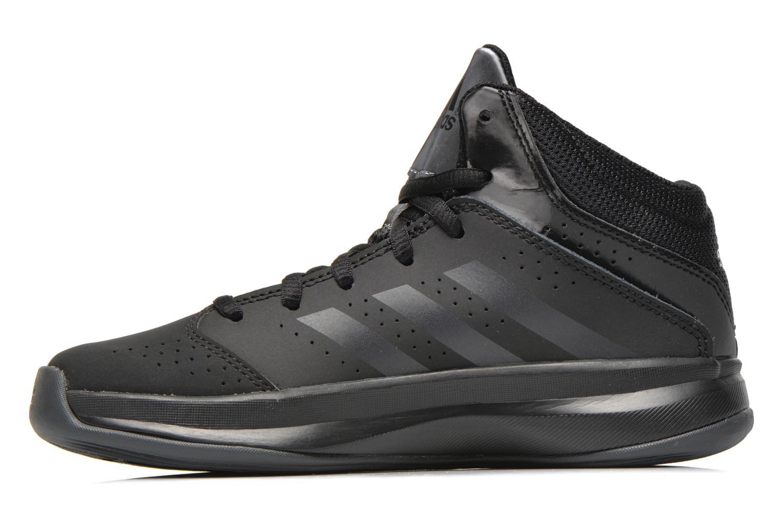 Sneaker Adidas Performance Isolation 2 K schwarz ansicht von vorne