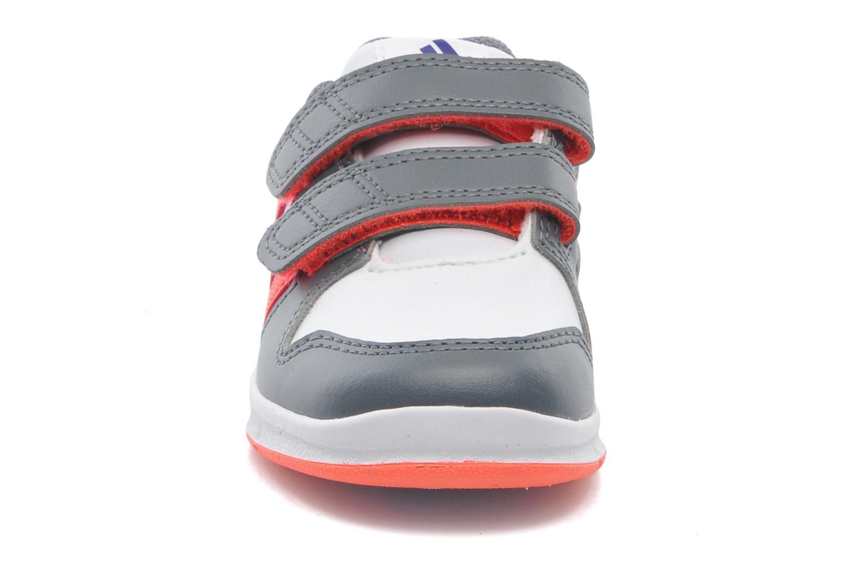Baskets Adidas Performance LK Trainer 6 CF I Blanc vue portées chaussures