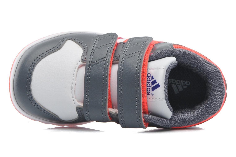 Baskets Adidas Performance LK Trainer 6 CF I Blanc vue gauche