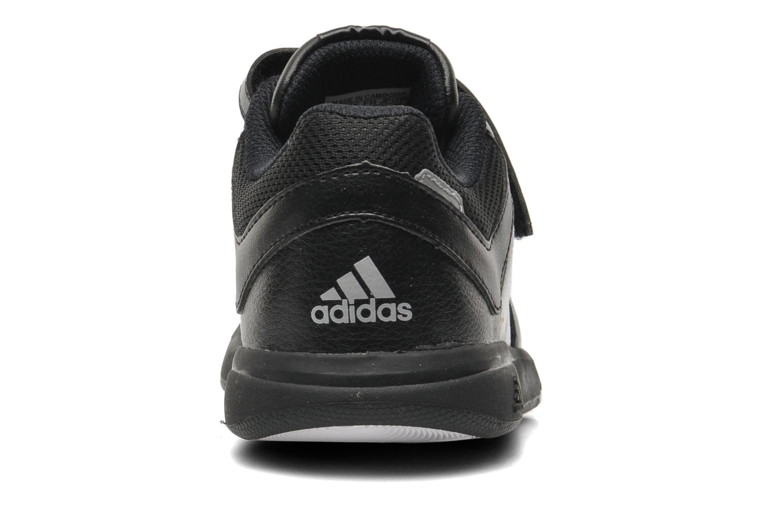 Trainers Adidas Performance LK Trainer 6 CF K Black view from the right