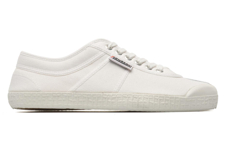 Sneaker Kawasaki Basic weiß ansicht von hinten