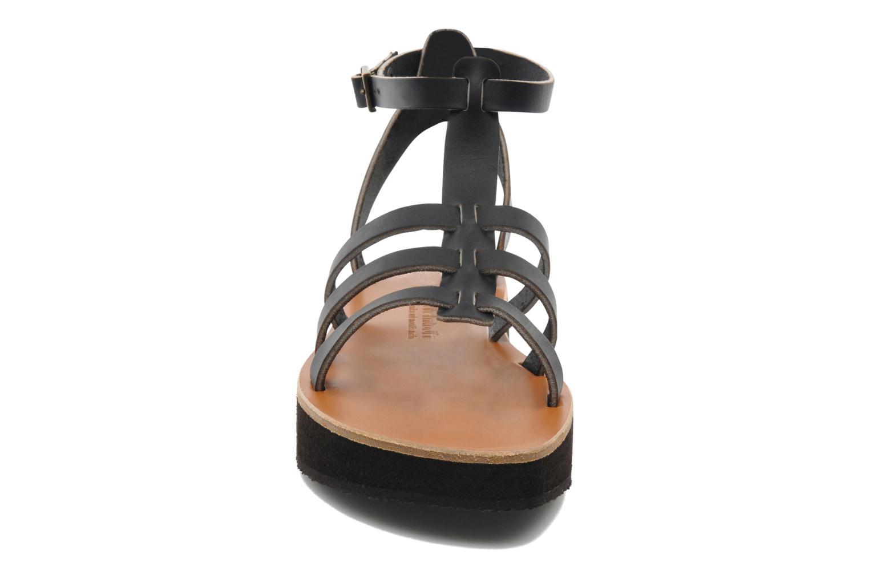 Sandales et nu-pieds Sandales de Thaddée Cesare 3 Noir vue portées chaussures