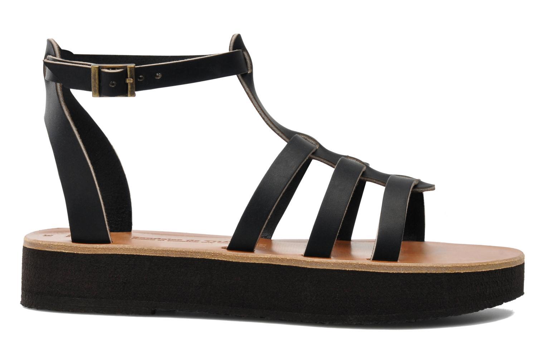 Sandalen Sandales de Thaddée Cesare 3 Zwart achterkant