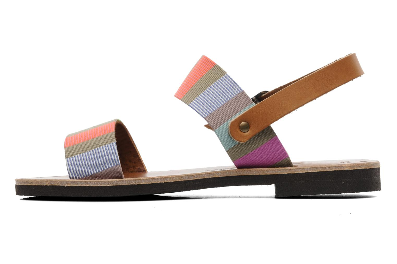 Sandalen Sandales de Thaddée Marbella Multicolor voorkant