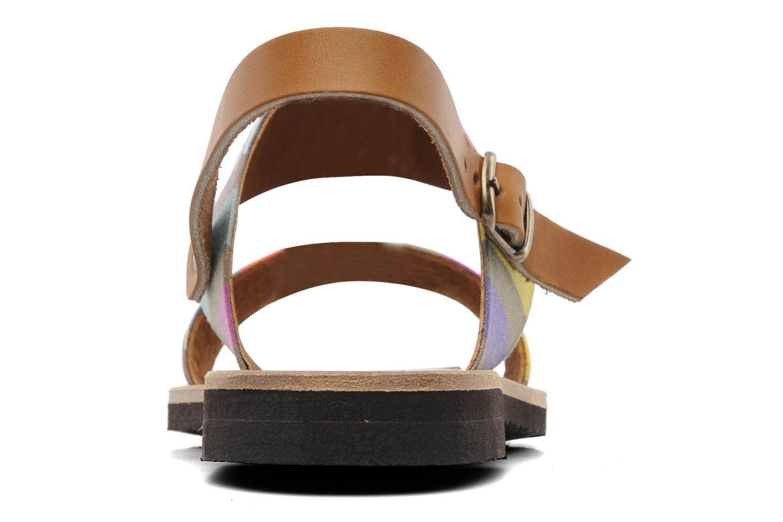 Sandalen Sandales de Thaddée Marbella Multicolor rechts