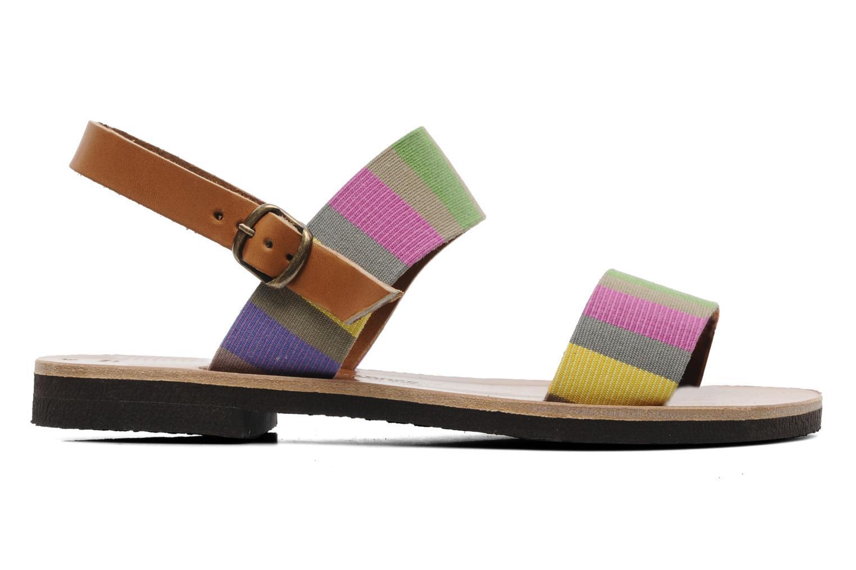 Sandalen Sandales de Thaddée Marbella Multicolor achterkant