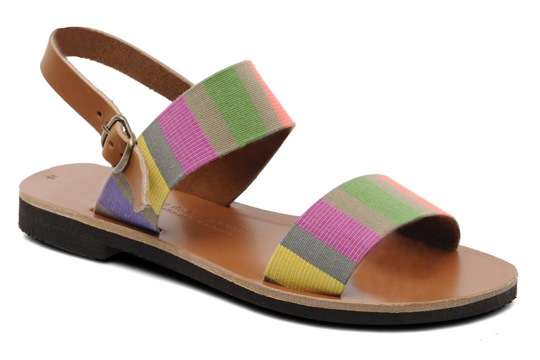 Sandalen Sandales de Thaddée Marbella Multicolor detail