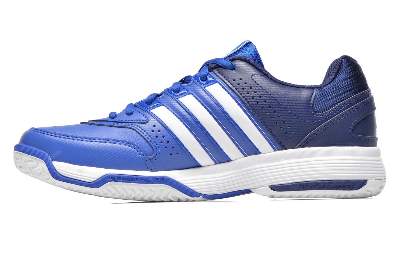 Sportschuhe Adidas Performance Response Aspire Str W blau ansicht von vorne