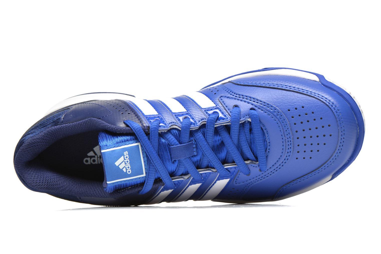 Sportschuhe Adidas Performance Response Aspire Str W blau ansicht von links