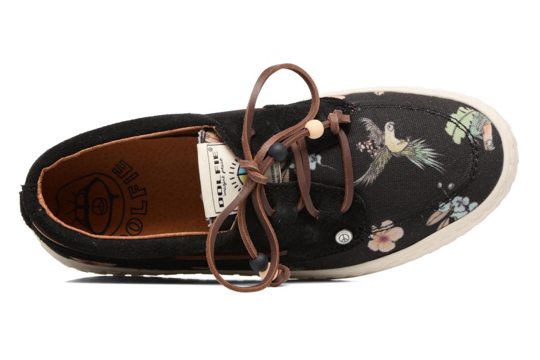 Chaussures à lacets Dolfie Dylan Noir vue gauche