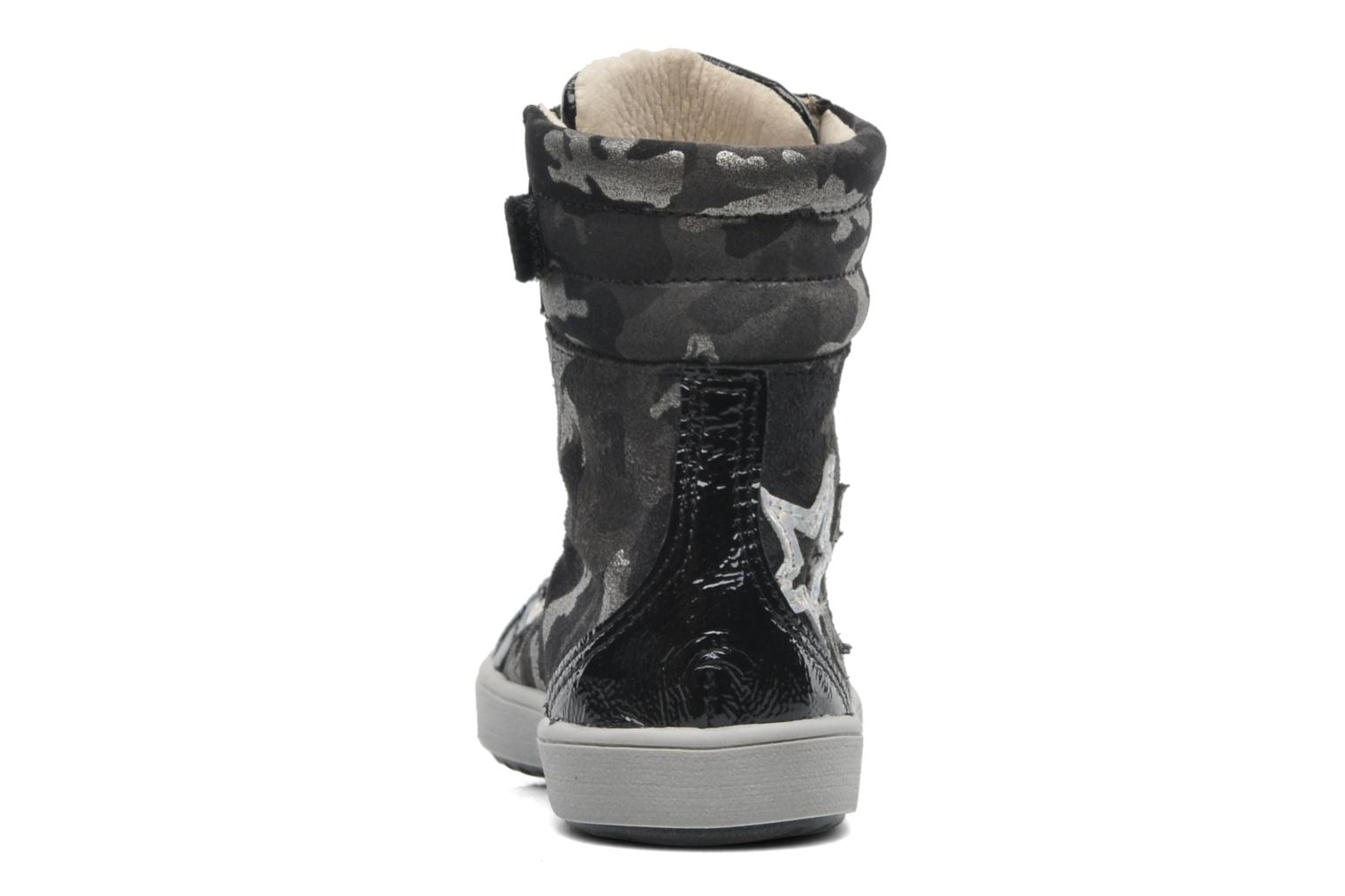 Ankle boots GBB HILARIE Grey view from the right