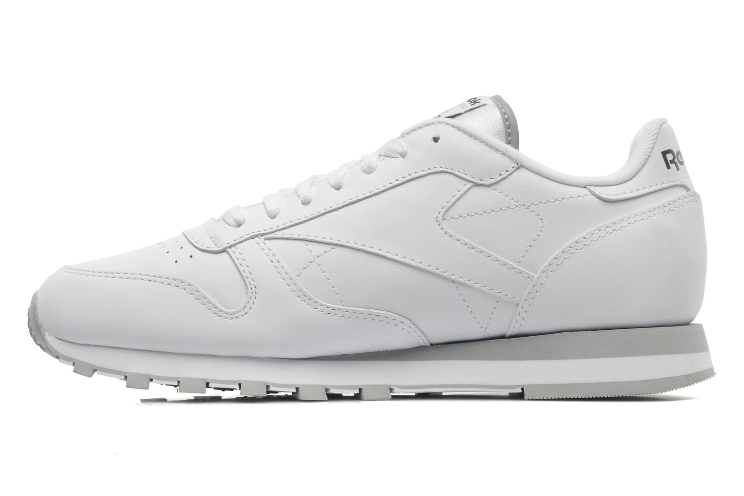 Classic Leather White-Lt. Grey