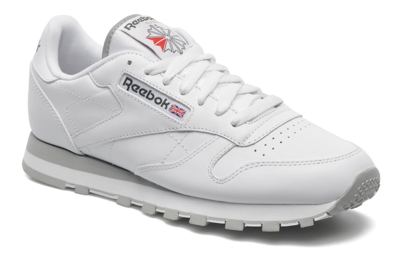 Deportivas Reebok Classic Leather Blanco vista de detalle / par