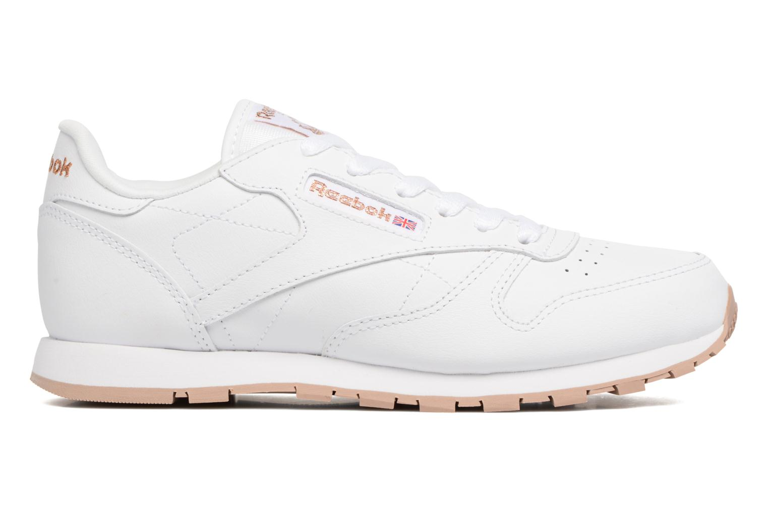 Classic Leather White/Rose Gold