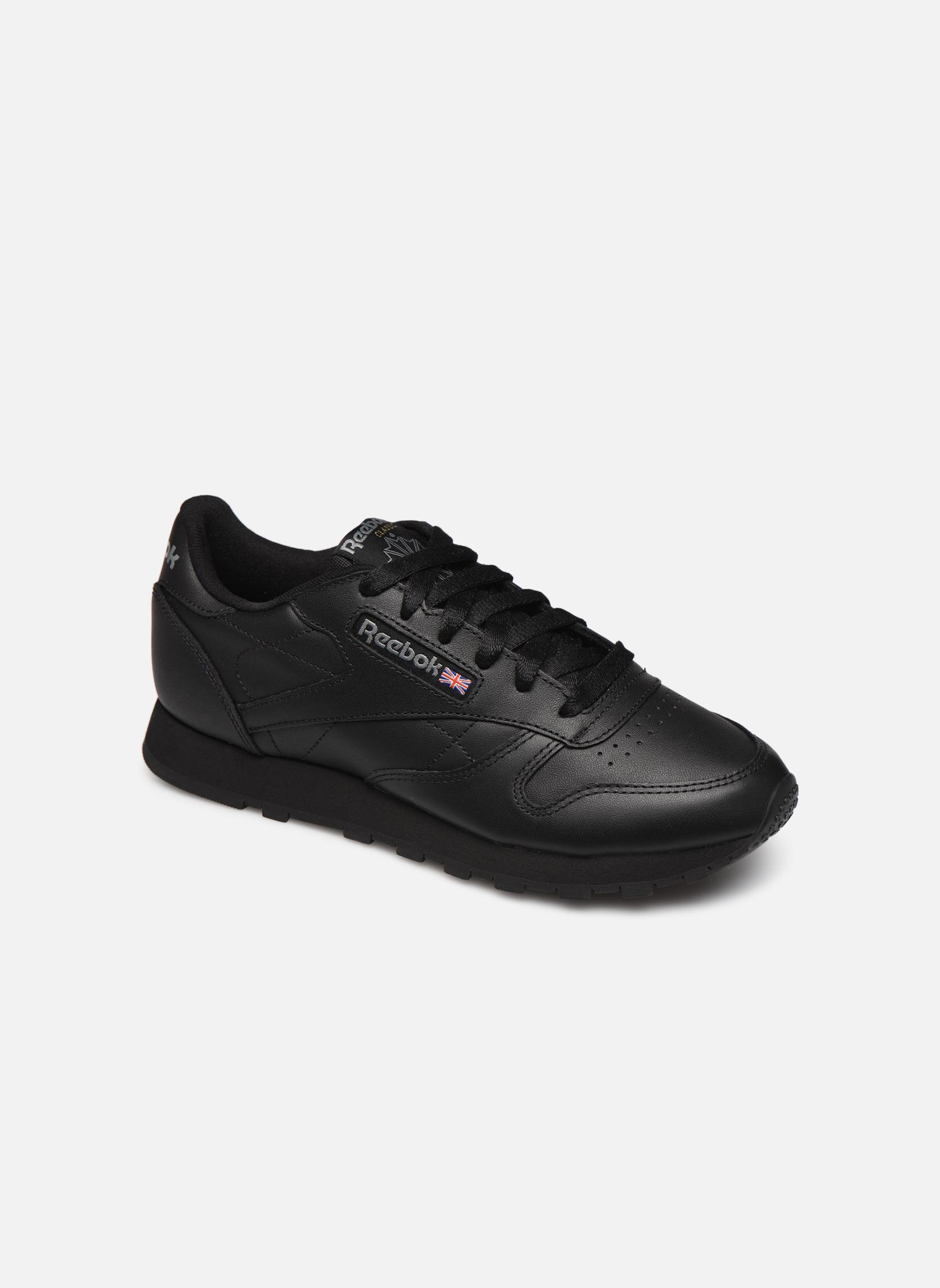 Grandes descuentos últimos zapatos Reebok Classic Leather W (Negro) - Deportivas Descuento