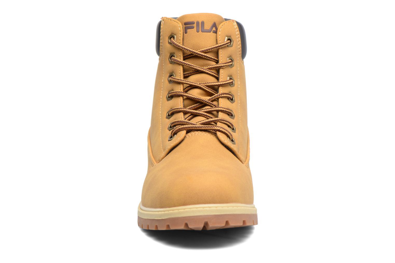 Bottines et boots FILA Maverick Mid Marron vue portées chaussures