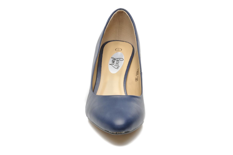 High heels I Love Shoes Kizup Blue model view