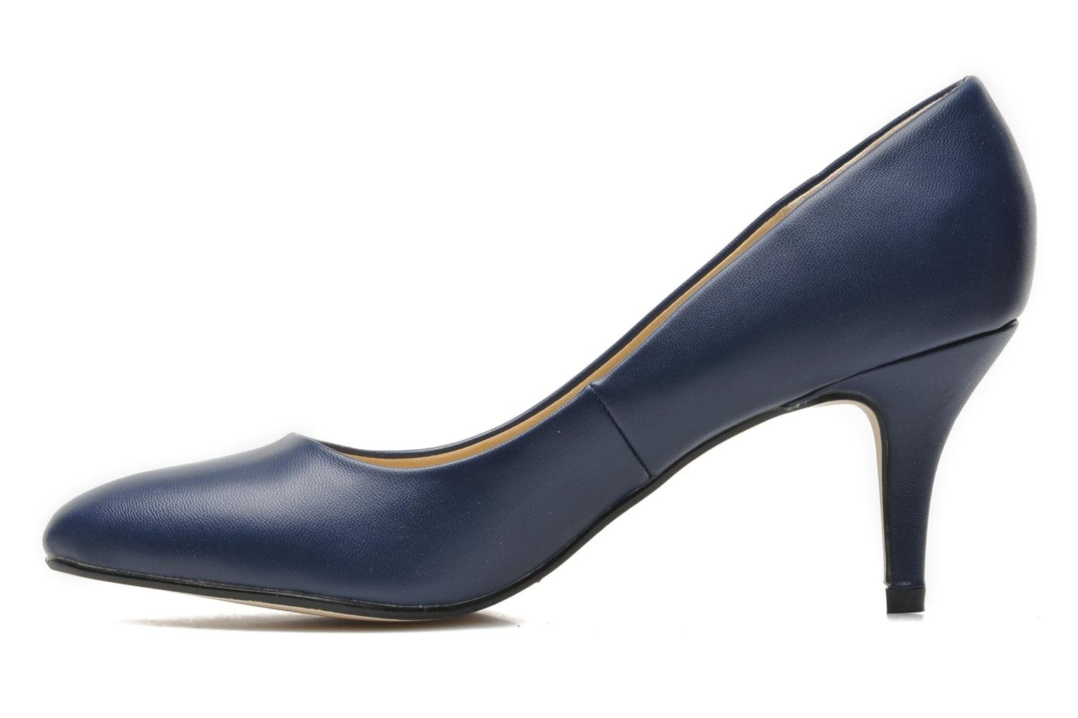 High heels I Love Shoes Kizup Blue front view