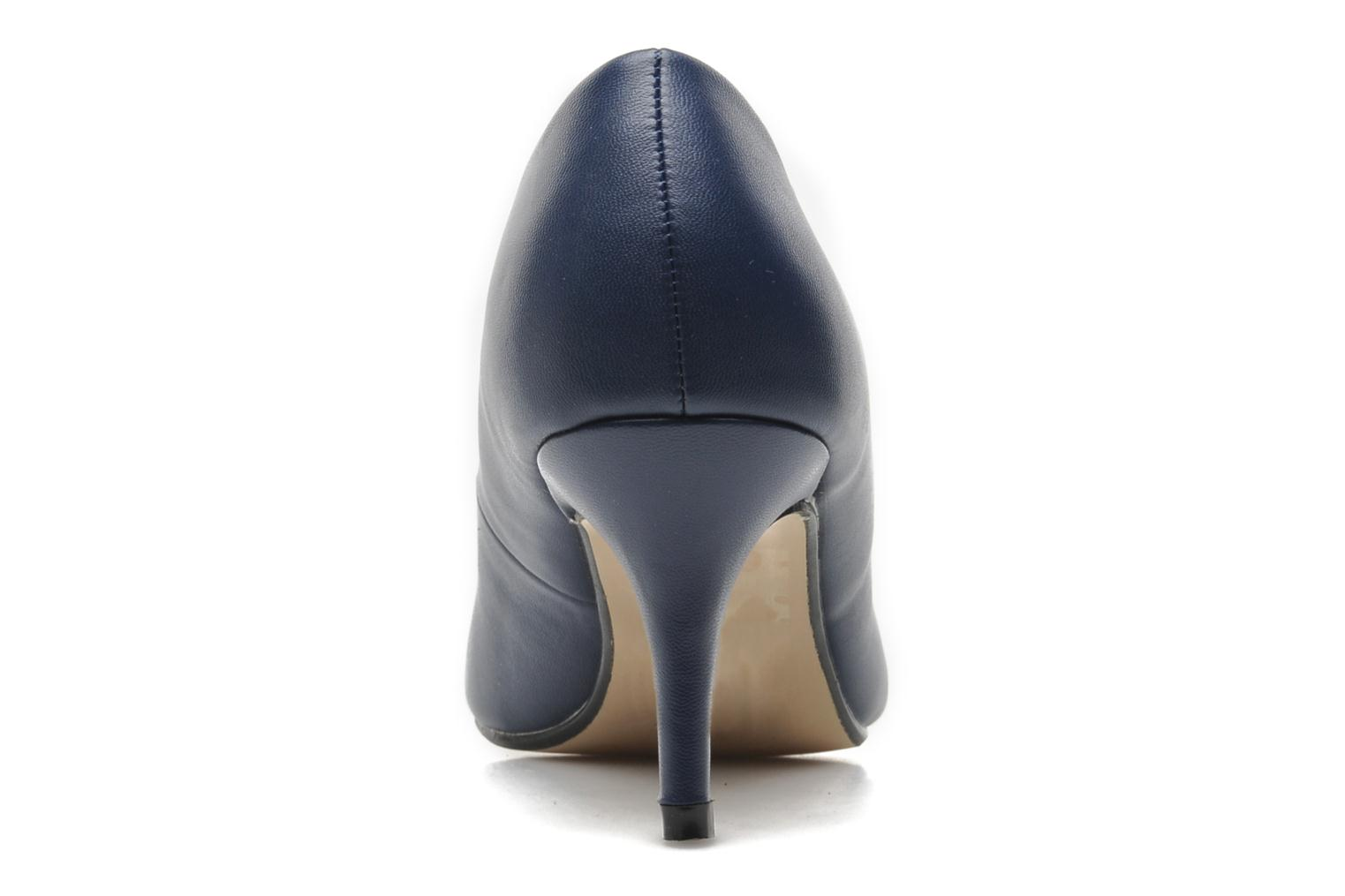 High heels I Love Shoes Kizup Blue view from the right