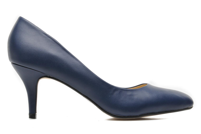High heels I Love Shoes Kizup Blue back view