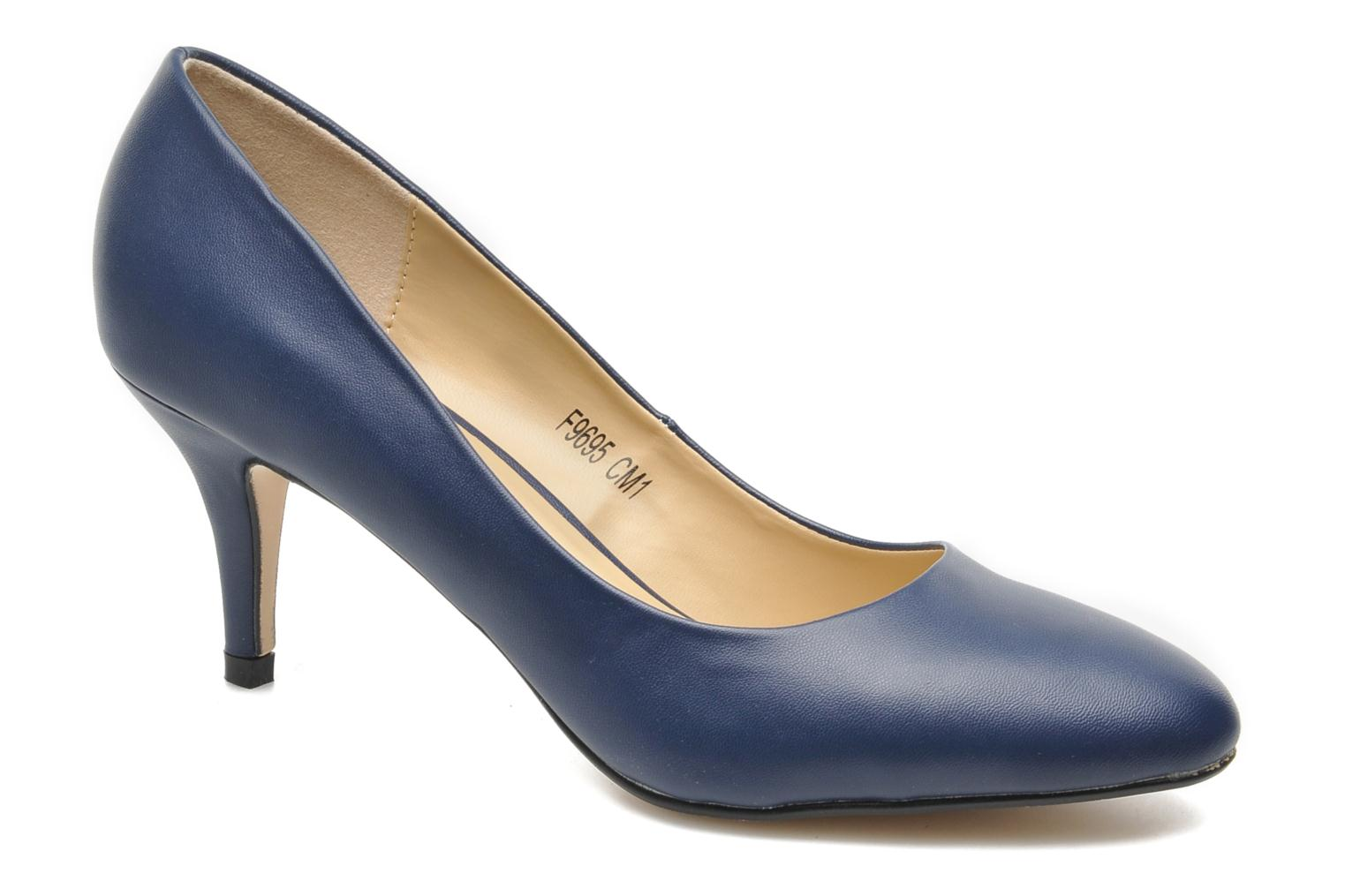 High heels I Love Shoes Kizup Blue detailed view/ Pair view