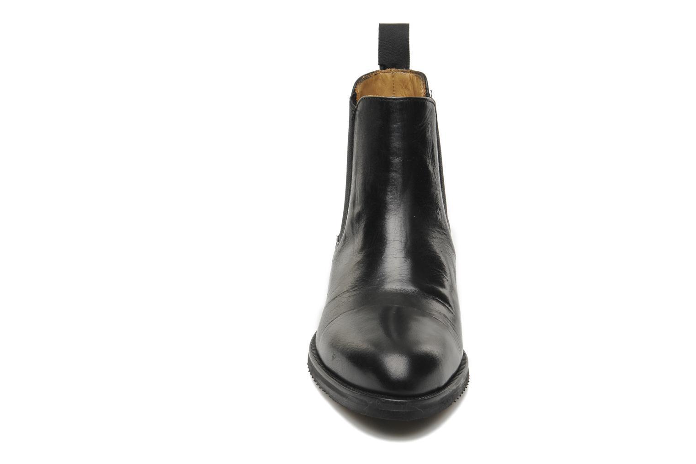 Bottines et boots Georgia Rose Amadouer Noir vue portées chaussures