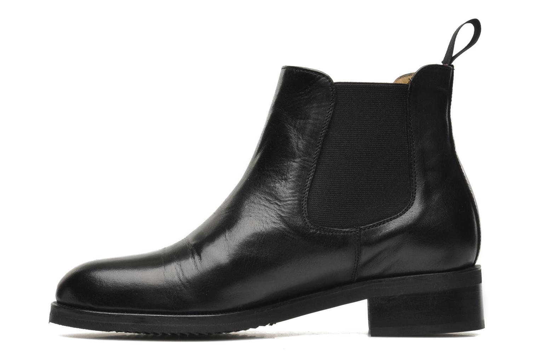 Bottines et boots Georgia Rose Amadouer Noir vue face