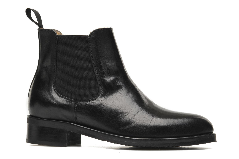 Bottines et boots Georgia Rose Amadouer Noir vue derrière