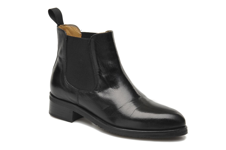 Bottines et boots Georgia Rose Amadouer Noir vue détail/paire