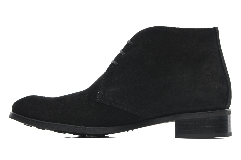 Bottines et boots Georgia Rose Amaretto Noir vue face