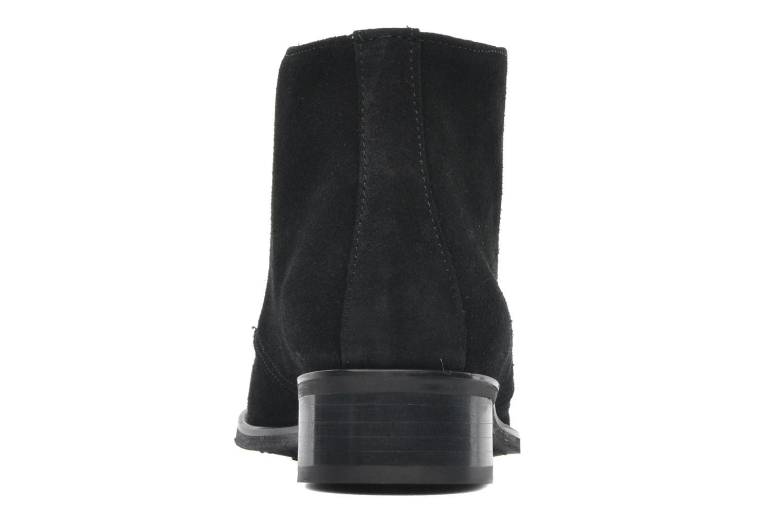 Bottines et boots Georgia Rose Amaretto Noir vue droite