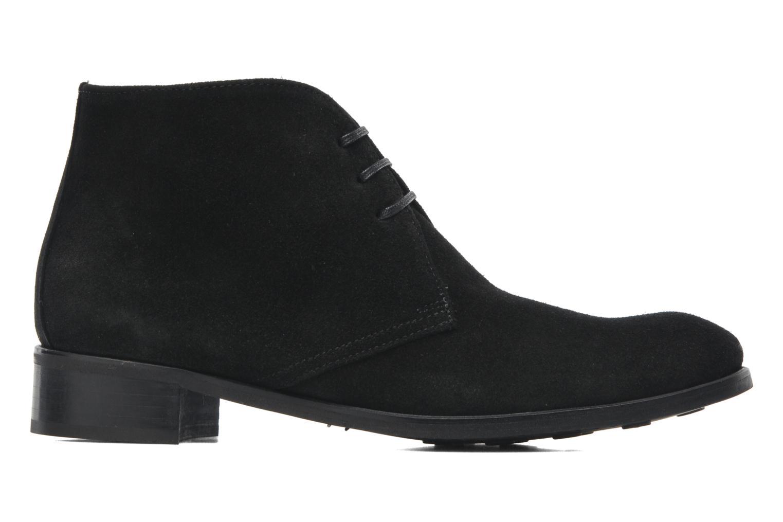 Bottines et boots Georgia Rose Amaretto Noir vue derrière