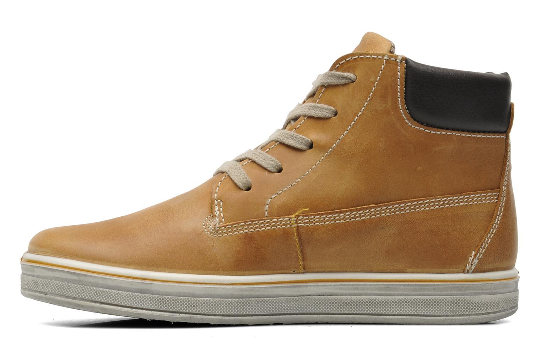 Sneakers Primigi ROLAND Brun se forfra