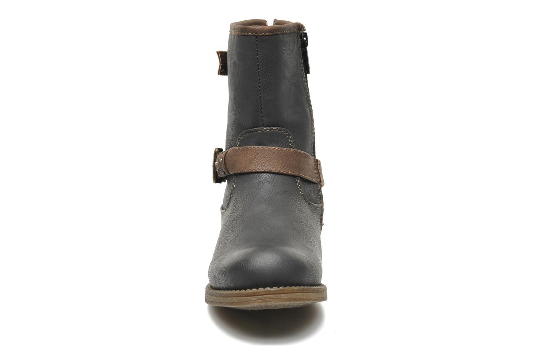 Bottines et boots Mustang shoes Maki Gris vue portées chaussures