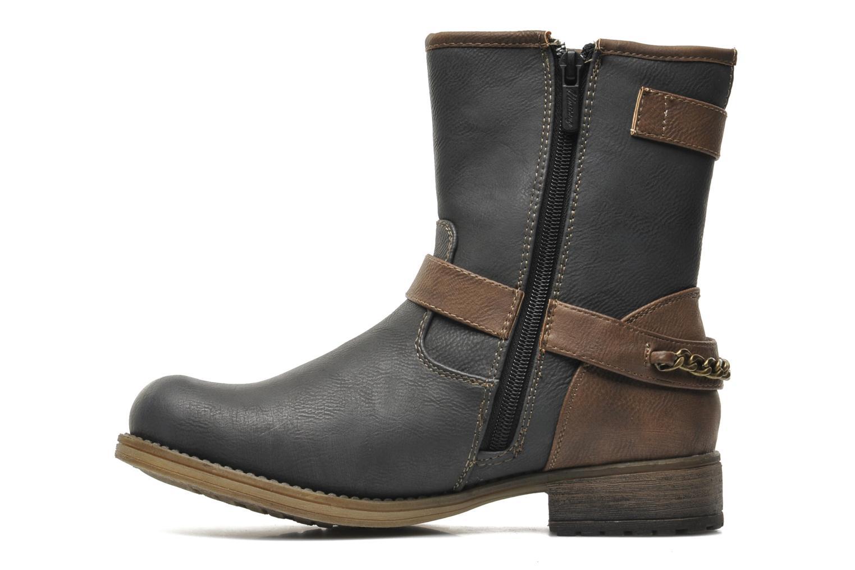 Bottines et boots Mustang shoes Maki Gris vue face