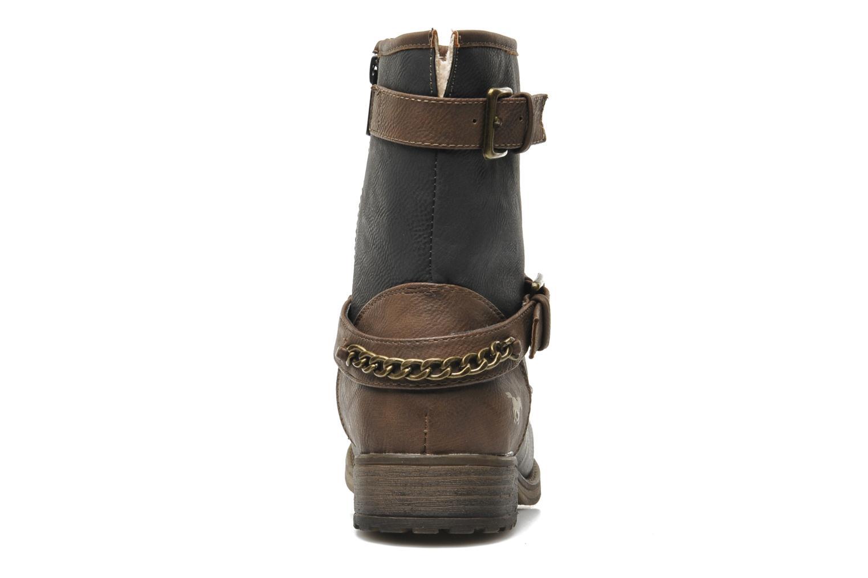 Bottines et boots Mustang shoes Maki Gris vue droite