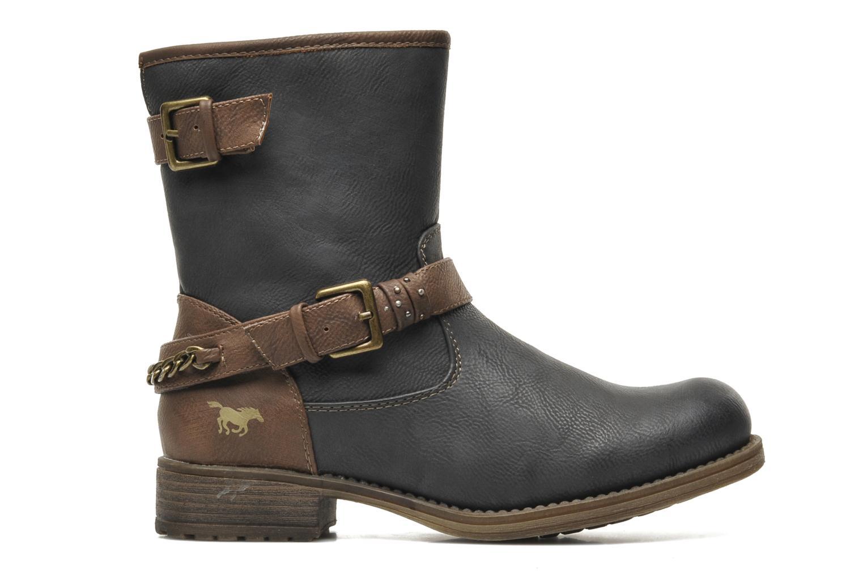 Bottines et boots Mustang shoes Maki Gris vue derrière