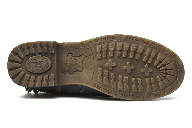 Bottines et boots Mustang shoes Maki Gris vue haut