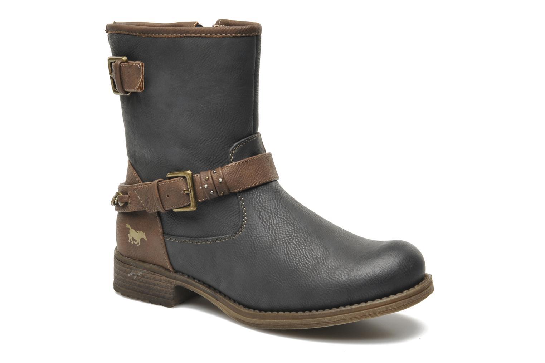 Bottines et boots Mustang shoes Maki Gris vue détail/paire