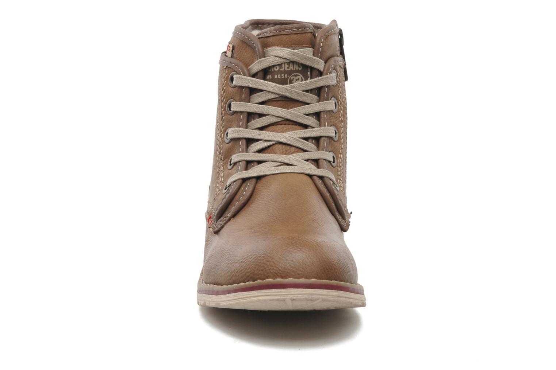 Stiefeletten & Boots Mustang shoes Milky braun schuhe getragen