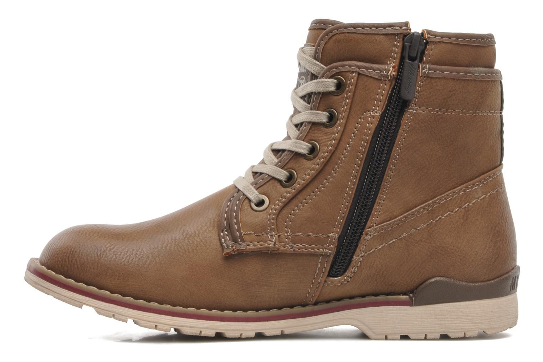 Stiefeletten & Boots Mustang shoes Milky braun ansicht von vorne