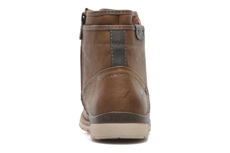 Stiefeletten & Boots Mustang shoes Milky braun ansicht von rechts