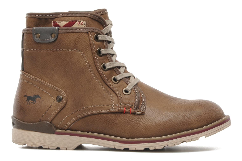 Stiefeletten & Boots Mustang shoes Milky braun ansicht von hinten