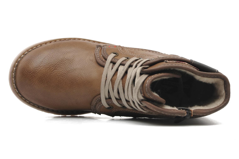 Stiefeletten & Boots Mustang shoes Milky braun ansicht von links